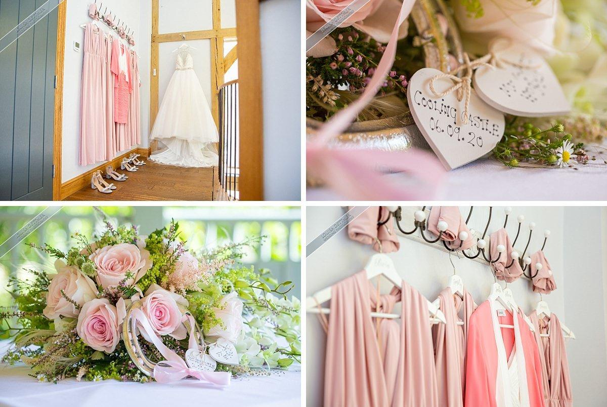 The Wedding of Helen and Andrew, September 2020, Cooling Castle Barn, Louisa Dettmer Wedding Photography